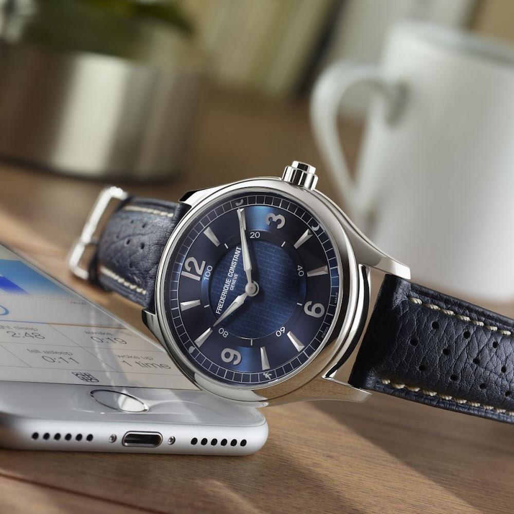 Швейцарские смарт часы Frederique Constant Horological Smartwatch FC-282AN5B6