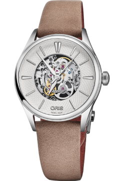 Oris 560 7724 40 51 LS Light Brown