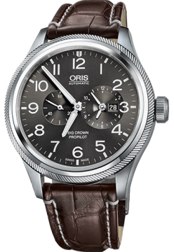 Oris 690 7735 40 63 LS Brown