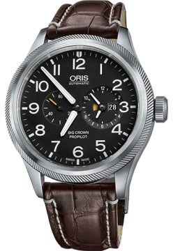 Oris 690 7735 41 64 LS Brown