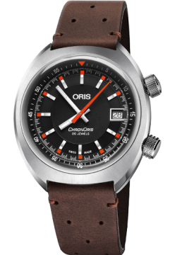Oris 733 7737 40 54 LS Brown