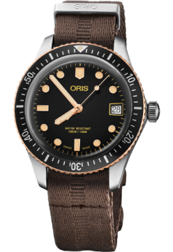 Oris 733 7747 43 54 TS NATO-Brown