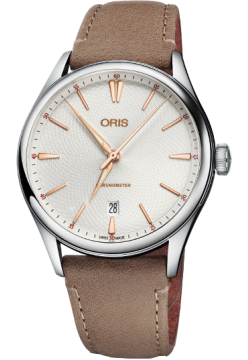 Oris 737 7721 40 31 LS Light Brown