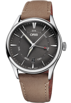Oris 755 7742 40 53 LS Dark Brown