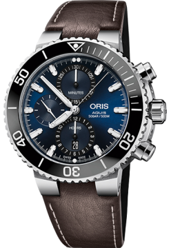 Oris 774 7743 41 55 LS Brown