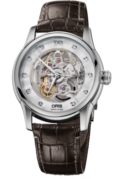 Oris 734 7670 40 19 LS Brown