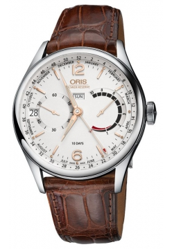 Oris 113 7738 40 31 LS Brown