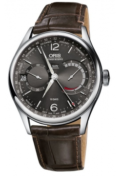 Oris 113 7738 40 63 LS Brown