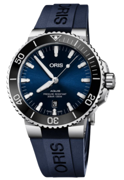 Oris 733 7730 41 35 RS Blue