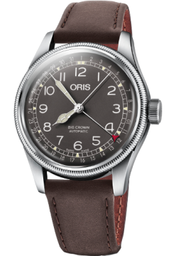 Oris 754 7741 40 64 LS Dark Brown