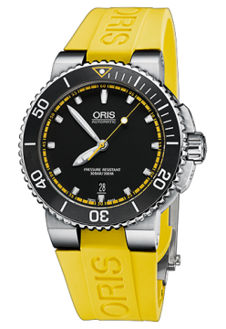 Oris 733 7653 41 27 RS Yellow